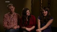 Click to play clip: Backstage with The Unthanks
