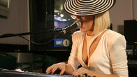 Click to play clip: Lady GaGa in the Live Lounge interviewed by Jo Whiley