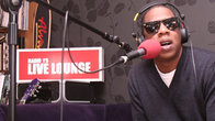 Click to play clip: Jay-Z interviewed by Jo Whiley on the Live Lounge tour