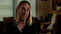 Click to play clip: Iggy Pop tells us what it takes to be a front man