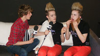 Click to play clip: Jedward's beard in a can jingle
