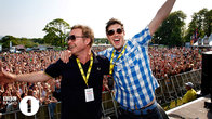 Click to play clip: BBC Radio 1's Big Weekend: 2010 - Vernon Kay vs Pete Tong Soundclash