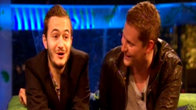 Click to play clip: Glastonbury 2008 - Editors interview