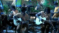 Click to play clip: Foals - Spanish Sahara acoustic at Glastonbury