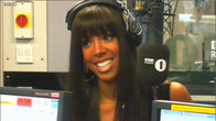 Click to play clip: Kelly Rowland chats with Fearne