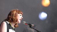 Click to play clip: Kate Nash on playing Glastonbury Festival in 2007