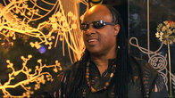 Click to play clip: Glastonbury 2010 - Stevie Wonder interview