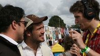 Click to play clip: Radio 1 - Greg catches up with Mumford and Sons