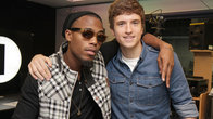 Click to play clip: LIVE CAM: B.o.B talks 1Xtra Live and plays The Square