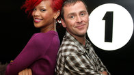 Click to play clip: LIVE CAM: Actual Rihanna on Scott Mills