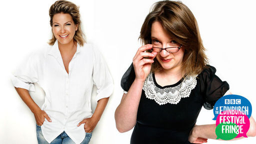 Sarah Millican and Penny Smith