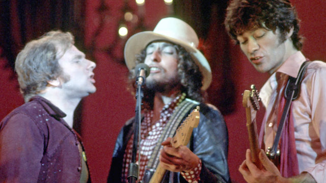 ... Robertson speaks about filming The Last Waltz with Martin Scorsese.