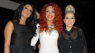 Click to play clip: Stooshe chat to Sir Terry Wogan