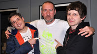 Click to play clip: Brown Brogues chat to Marc Riley