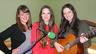 Click to play clip: The Staves speak to Jo Whiley