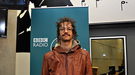 Click to play clip: Darwin Deez - Interview