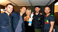 Click to play clip: Coldplay chat with Jo Whiley