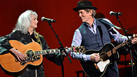 Click to play clip: Emmylou Harris and Rodney Crowell speak to Bob Harris