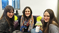 Click to play clip: The Staves chat with Radcliffe and Maconie