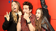 Click to play clip: HAIM chat to Grimmy