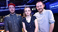 Click to play clip: CHVRCHES speak to Phil Taggart