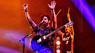 Click to play clip: Foals - Glastonbury highlights