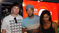 Click to play clip: AlunaGeorge chat with Target