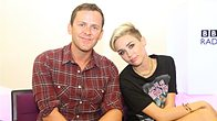 Click to play clip: Miley Cyrus with Scott Mills on The Official Chart