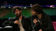 Click to play clip: Interview with Foals
