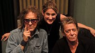 Click to play clip: Lou Reed and photographer Mick Rock join Nemone
