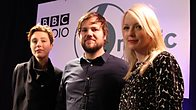 Click to play clip: Poliça chat to Lauren Laverne 6 Music Live