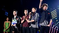 Click to play clip: Union J, Best British Breakthrough Award winner