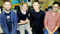 Click to play clip: Keane catch up with Steve Lamacq