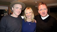 Click to play clip: Travis catch up with Jo Whiley