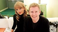 Click to play clip: Taylor Swift chats to Patrick Kielty