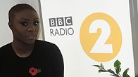 Click to play clip: Laura Mvula chats to Graham Norton