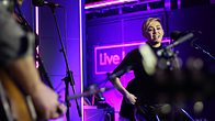 Click to play clip: Miley Cyrus - Wrecking Ball in the Live Lounge