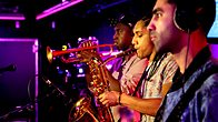 Click to play clip: Rudimental - Monster/Story Of My Life in the Live Lounge