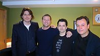 Click to play clip: The Manic Street Preachers play for Dermot