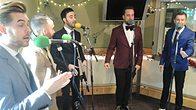 Click to play clip: The Overtones Live in Session
