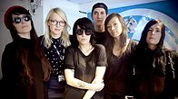 Click to play clip: Dum Dum Girls live in session for Lauren Laverne