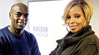 Click to play clip: Full interview: Mary J. Blige co-hosts a festive show with Trevor Nelson