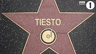 Click to play clip: Tiesto enters the Hall of Fame