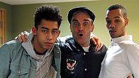 Click to play clip: Rizzle Kicks in session