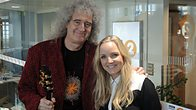 Click to play clip: Brian May and Kerry Ellis chat to Steve Wright