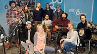 Click to play clip: Edward Sharpe & The Magnetic Zeros live in session