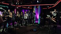 Click to play clip: Bastille perform Earth Song/Common People in Radio 1 Live Lounge