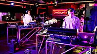 Click to play clip: Disclosure ft Aluna George - White Noise in the Live Lounge