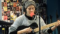 Click to play clip: Cate Le Bon live in session for Lauren Laverne