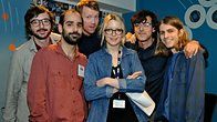 Click to play clip: Real Estate in session for Lauren Laverne